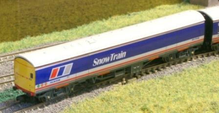 Network SouthEast Snow Train Coaches